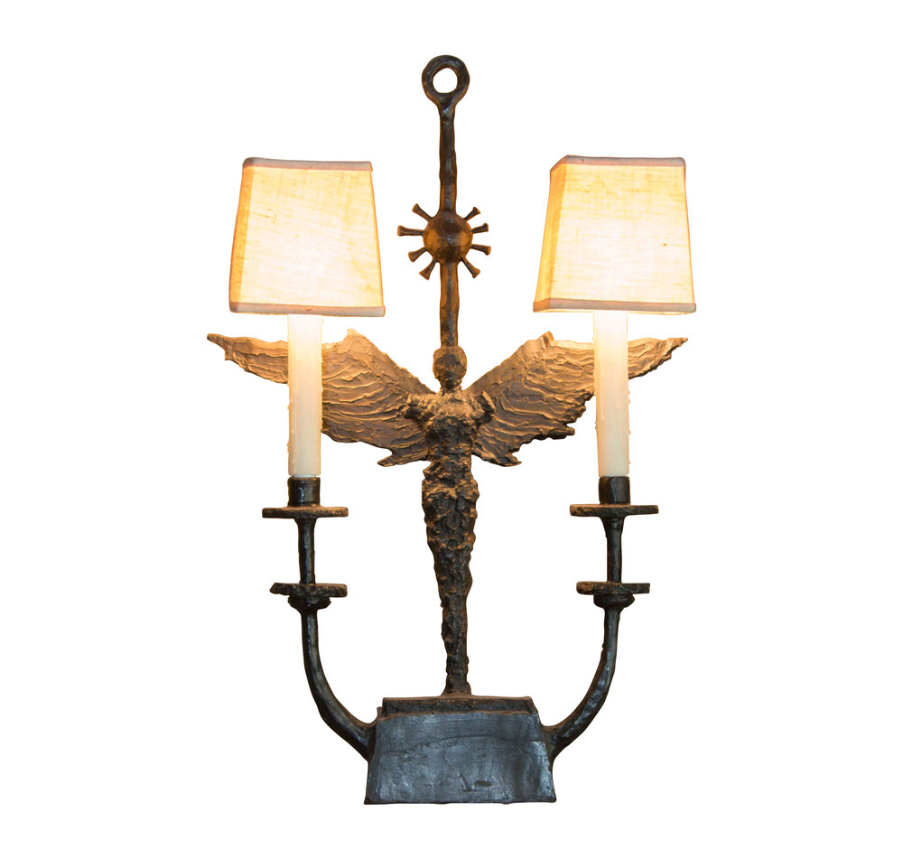 ANGEL CANDELABRUM TABLE LAMP