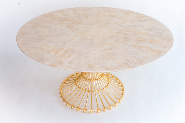 GILDED CAGE DINING TABLE