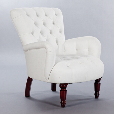 Buttoned Bedroom Chair