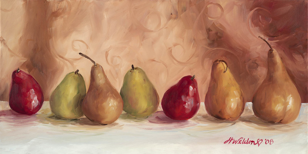"""Pears on Parade"""