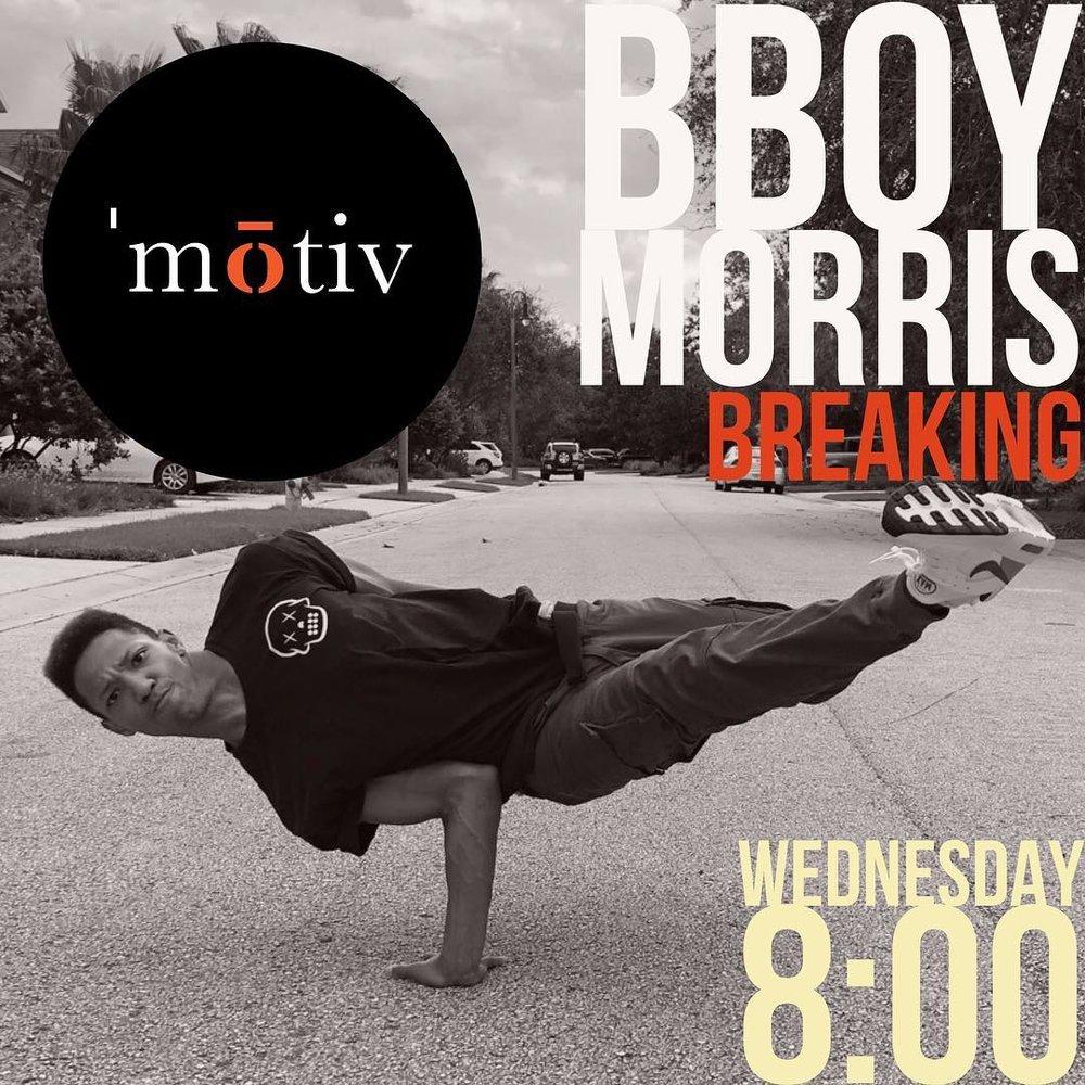 BBoy Morris