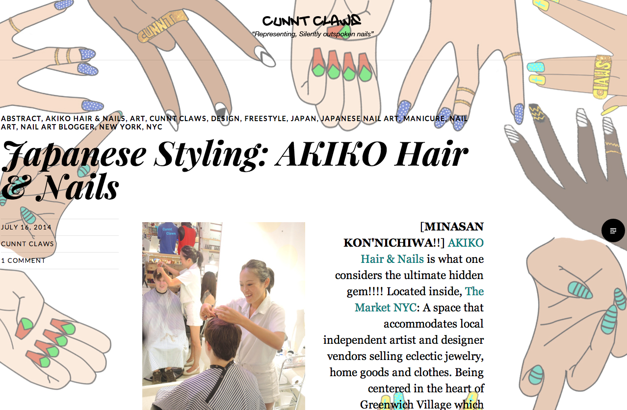 Press — Akiko Nails