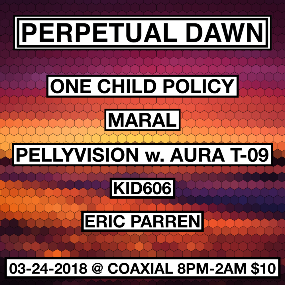 I'll be doing visuals for Maral and Kid606 too!