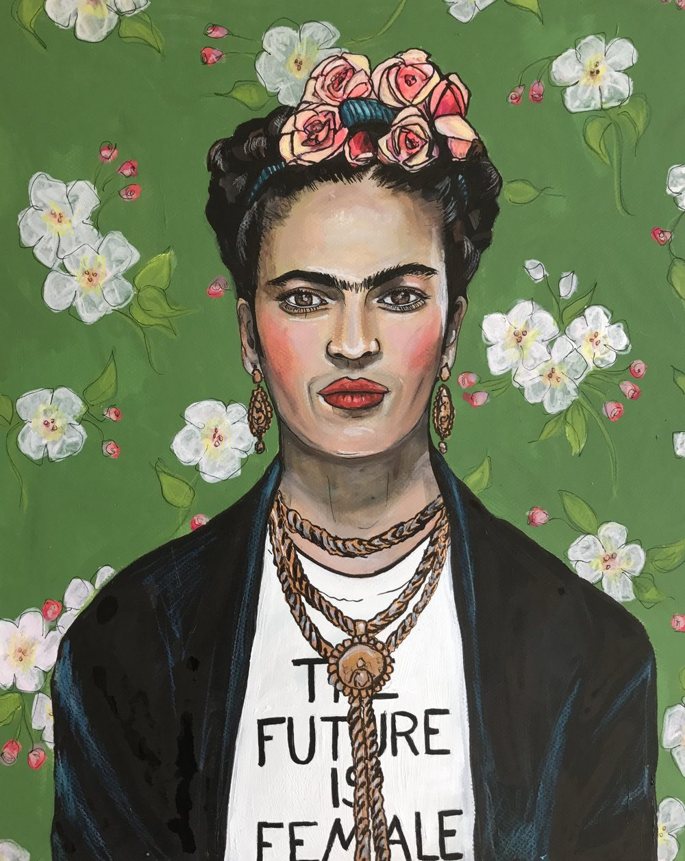 """Frida in Prabal Gurung"" SOLD"