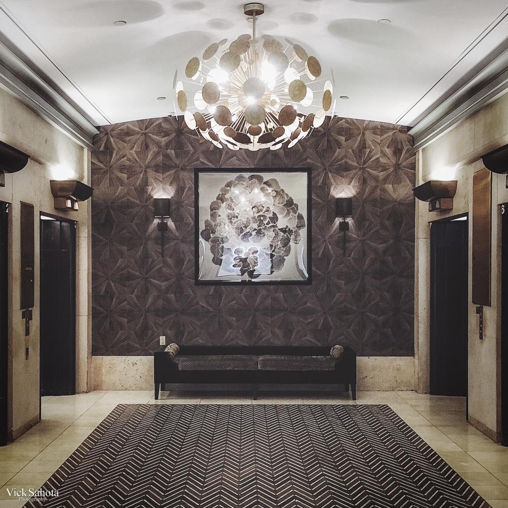 Fairmont Hotel Vancouver Elevator Lobby