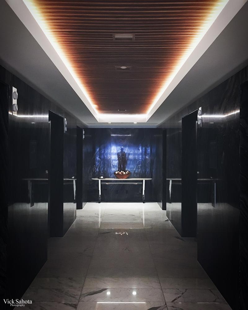 Fairmont Pacific Rim Elevator Lobby
