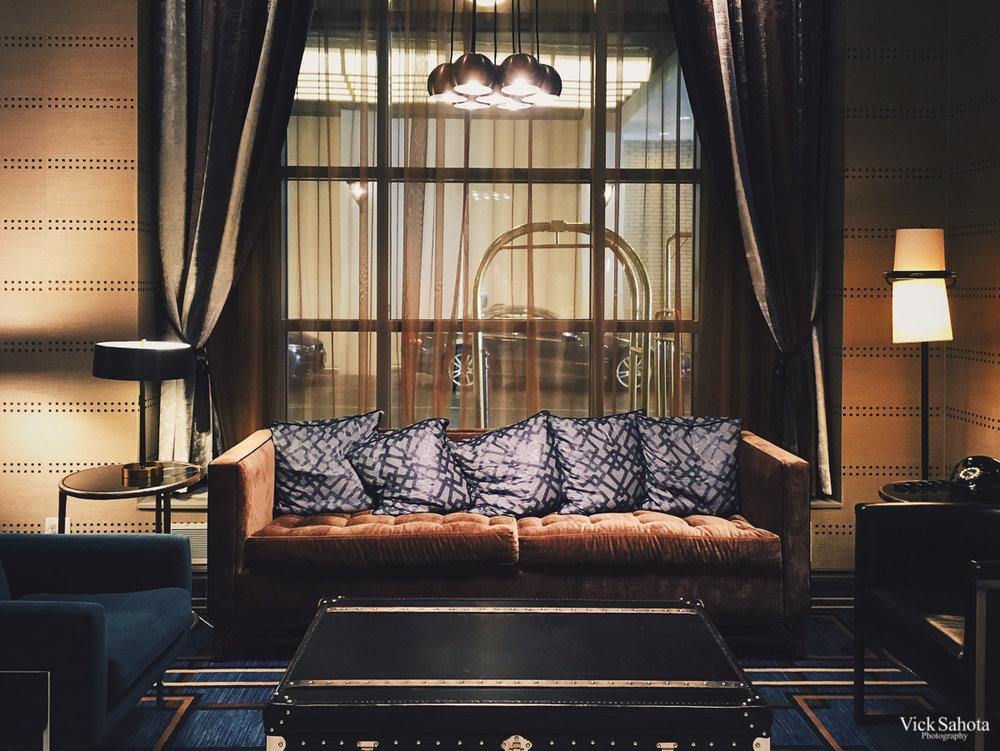 Fairmont Vancouver Lobby