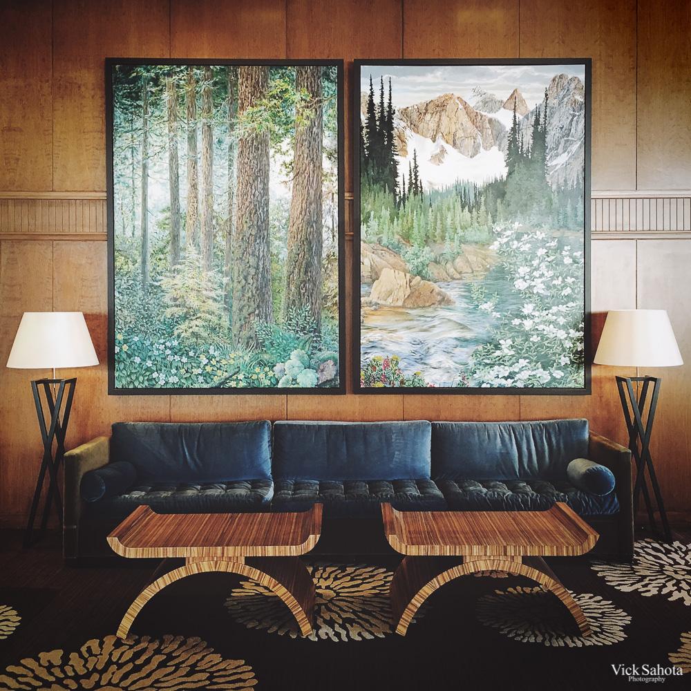 Four Seasons Vancouver Lobby