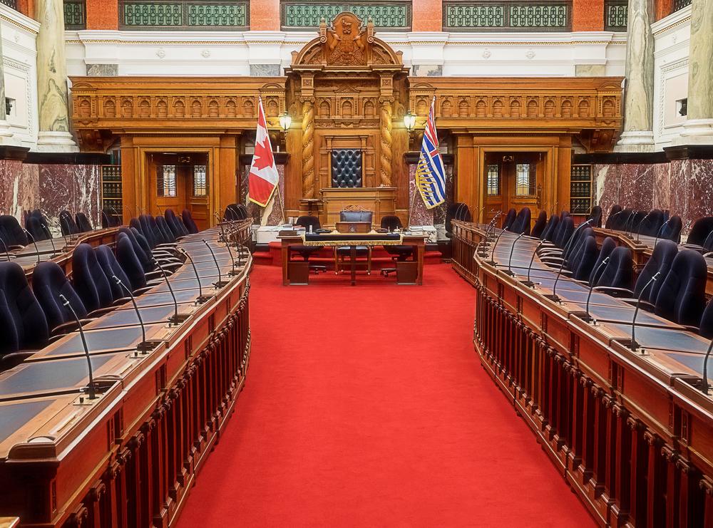 Victoria Legislature Building