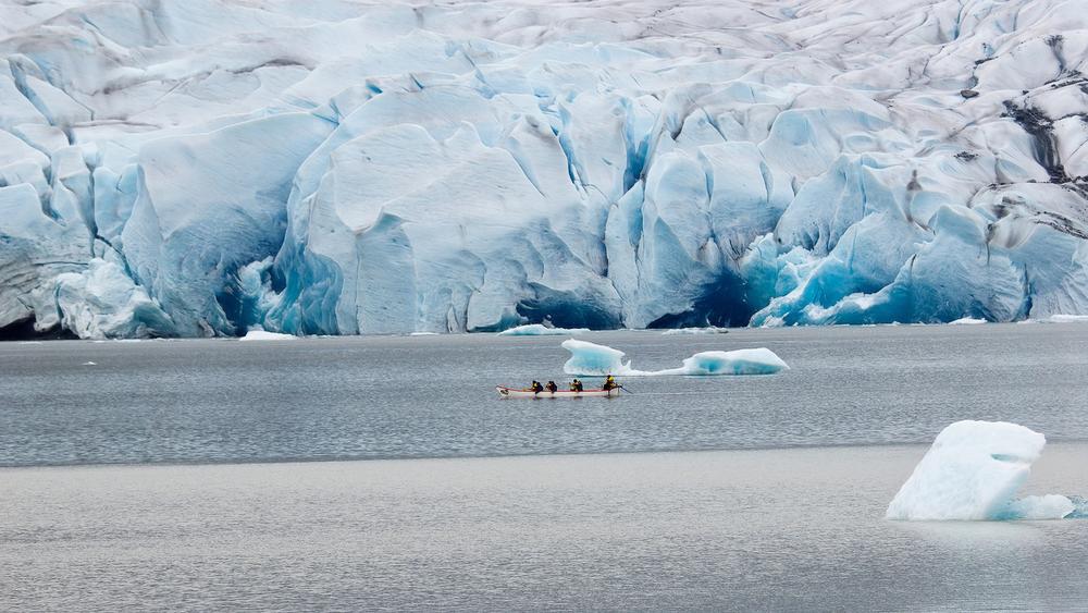 Mendenhall Glacier, Juneau.