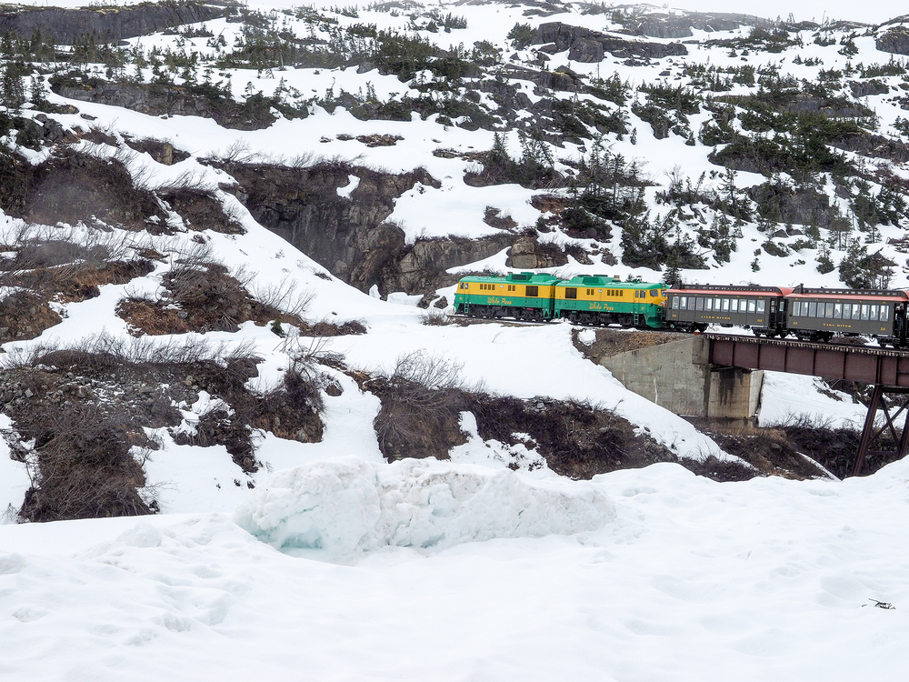 This was an awesome trip on The White Pass Railway.