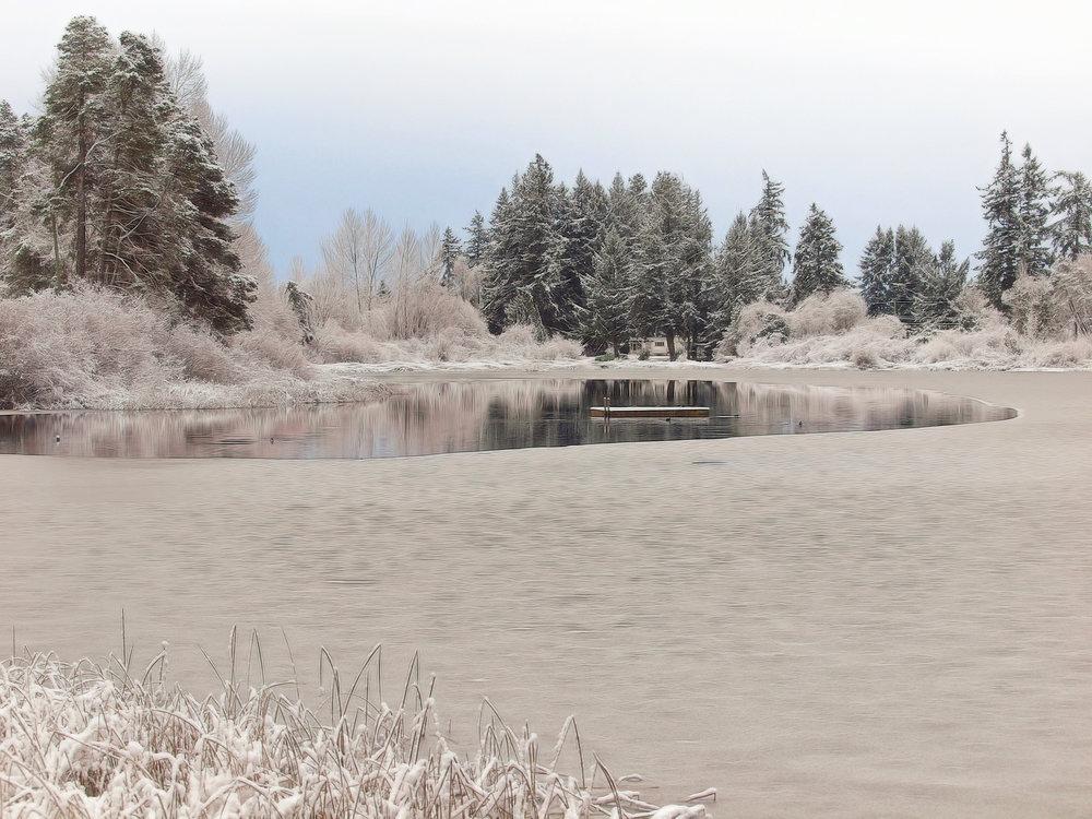 Florence Lake Snow