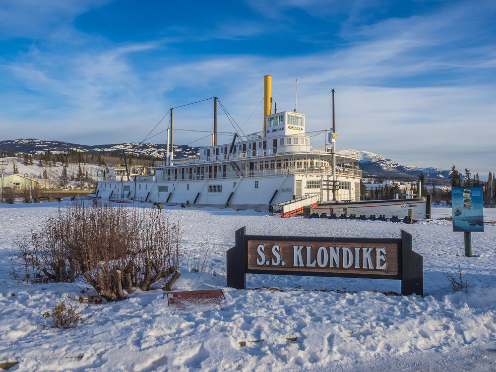 SS Klondike was the name of two sternwheelers, the second now a national historic site located in Whitehorse, Yukon, Canada. Both ran freight between Whitehorse and Dawson City along the Yukon River from 1929-1936 and 1937-1950, respectively.
