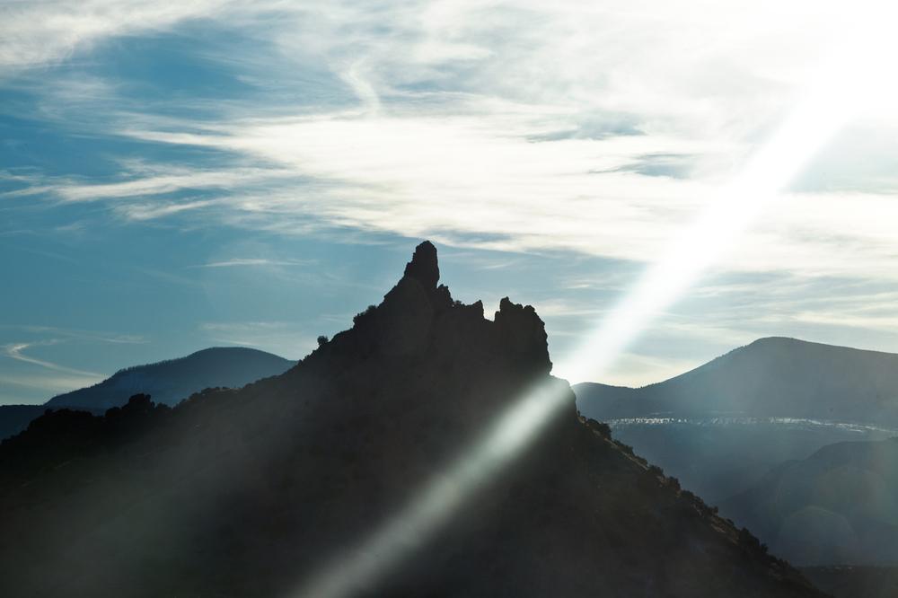 North of Santa Fe, NM