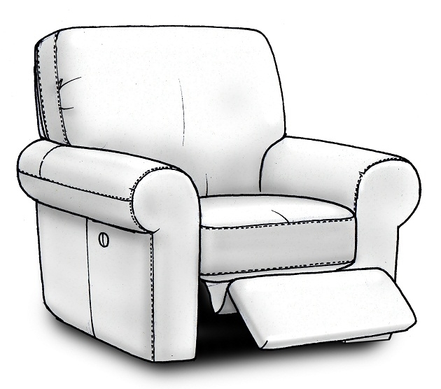 Small design tweakscan reduce cost without compromising the quality of the product. The verticalseam on the side of arecliner allowed us to beat our customer's target price!