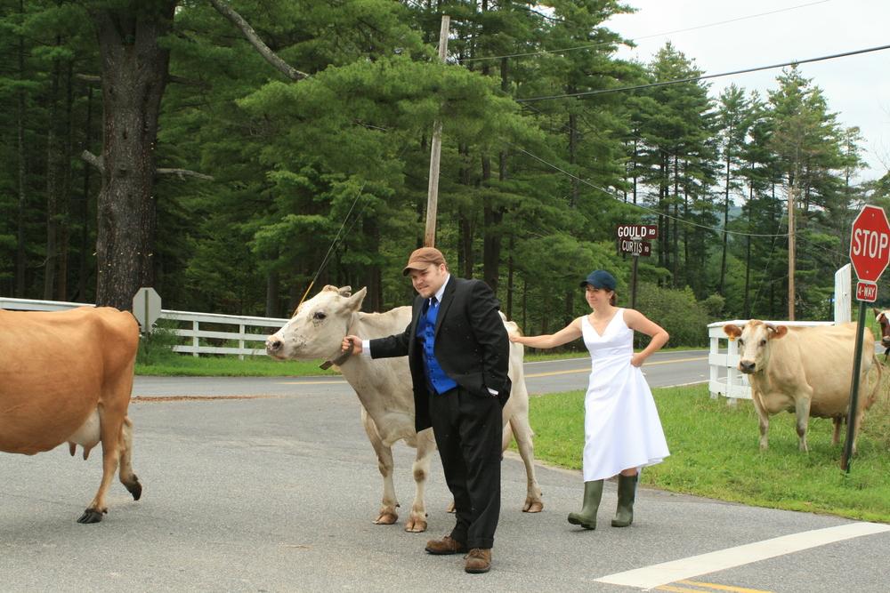 wedding photos at Gould Farm