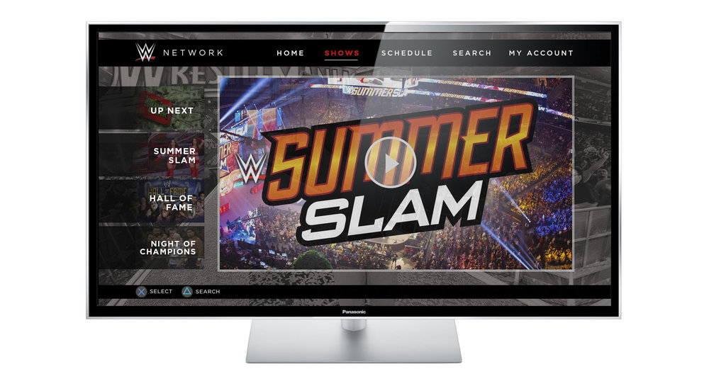 $9.99 a month, y'all. First month is free. I am not a paid spokesperson. I'm just a wrestling nerd. Oh, and this is my homepage design. To see the current state of things, keep scrolling.