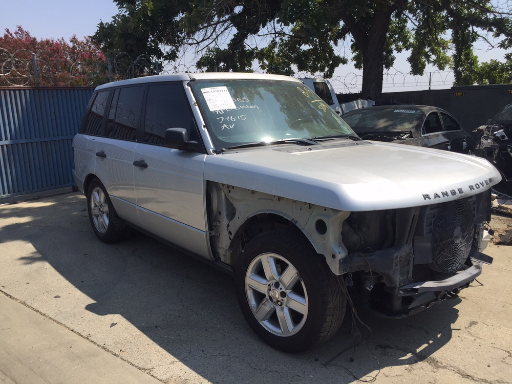 Parting out 2004 Range Rover