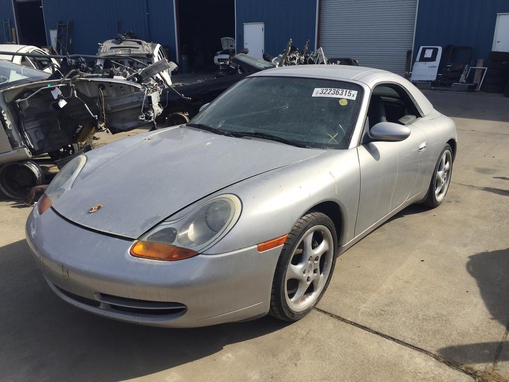 Parting out Porsche 911