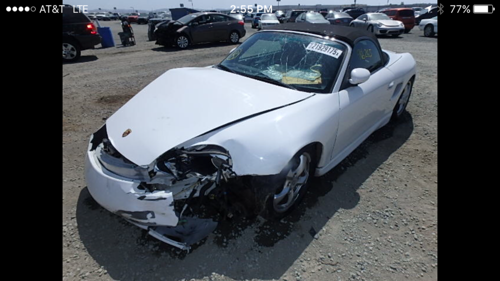 Parting out Boxster