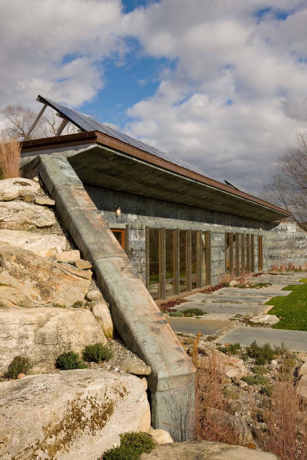 Allan Shope | Earth-Bermed House