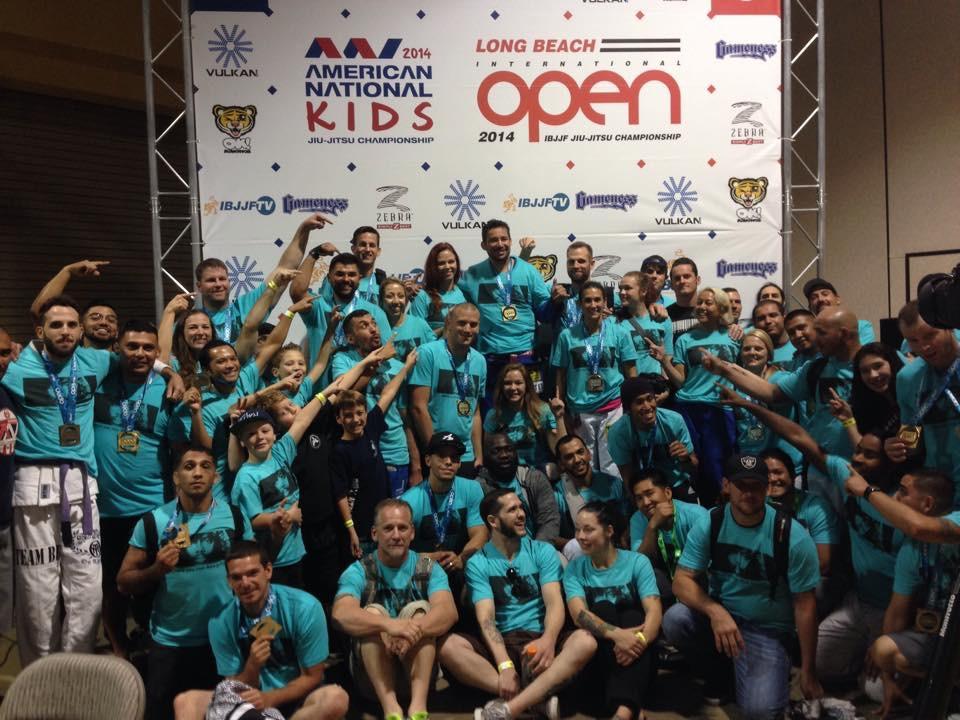 Bakersfield Jiu Jitsu kids competition