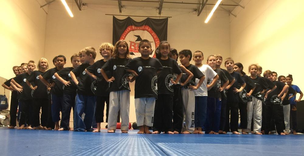 Bakersfield Kids jiu jitsu