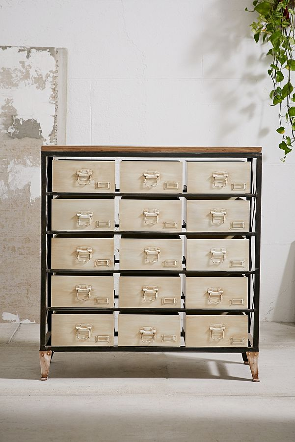 The perfect makeup storage system - I found mine at Hobby Lobby, but this one from Urban Outfitters is spot-on (and comes in additional colors)!