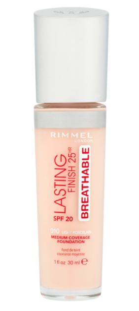 RIMMEL LONDON LASTING FINISH 25HR BREATHABLE FOUNDATION - Yep, I've already raved about this foundation this year, but it is seriously that good of a foundation. It looks even better throughout the day!