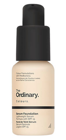 THE ORDINARY SERUM FOUNDATION - All the British beauty gurus were raving about this foundation, so when it came to the U.S., I had to give it a try. It's without a doubt the most natural finish of all my winter foundations.