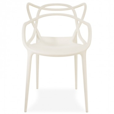 kartell masters chair white $300