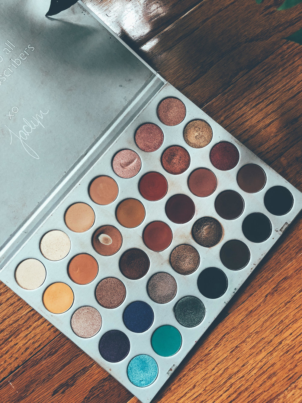 The Jaclyn Hill Palette...Yes...She has been loved...
