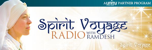 Live interview with Ramdesh Kaur on Spirit Voyage Radio.