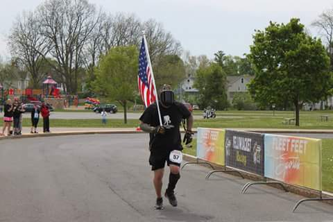 Darth at the Canandaigua Classic Half Marathon