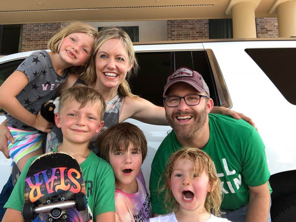 Nick, his girlfriend, Arleigh, and their kiddos embark on a 4th of July road trip.
