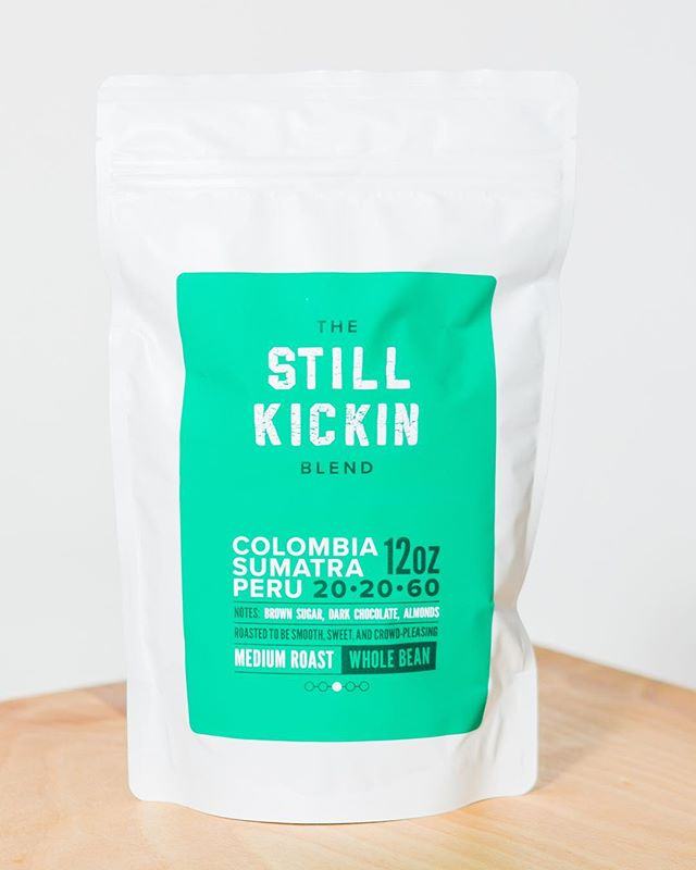 Get yourself out of bed while helping a human out! Our Still Kickin Blend is a crowd pleaser for a wide range of coffee drinkers. It has the Midwestern sensibility to do its job and let you get on with your day with some extra pep in your step.⠀ ⠀ Each cup will help you say you're Still Kickin, and your purchase helps our monthly hero do the same.⠀ ⠀ Click this image to shop!⠀ ⠀ #stillkickin #helpahumanout⠀ ⠀ Photo by @kyleeandchristiancreative⠀ Roasted by our friends at @millcityroasters