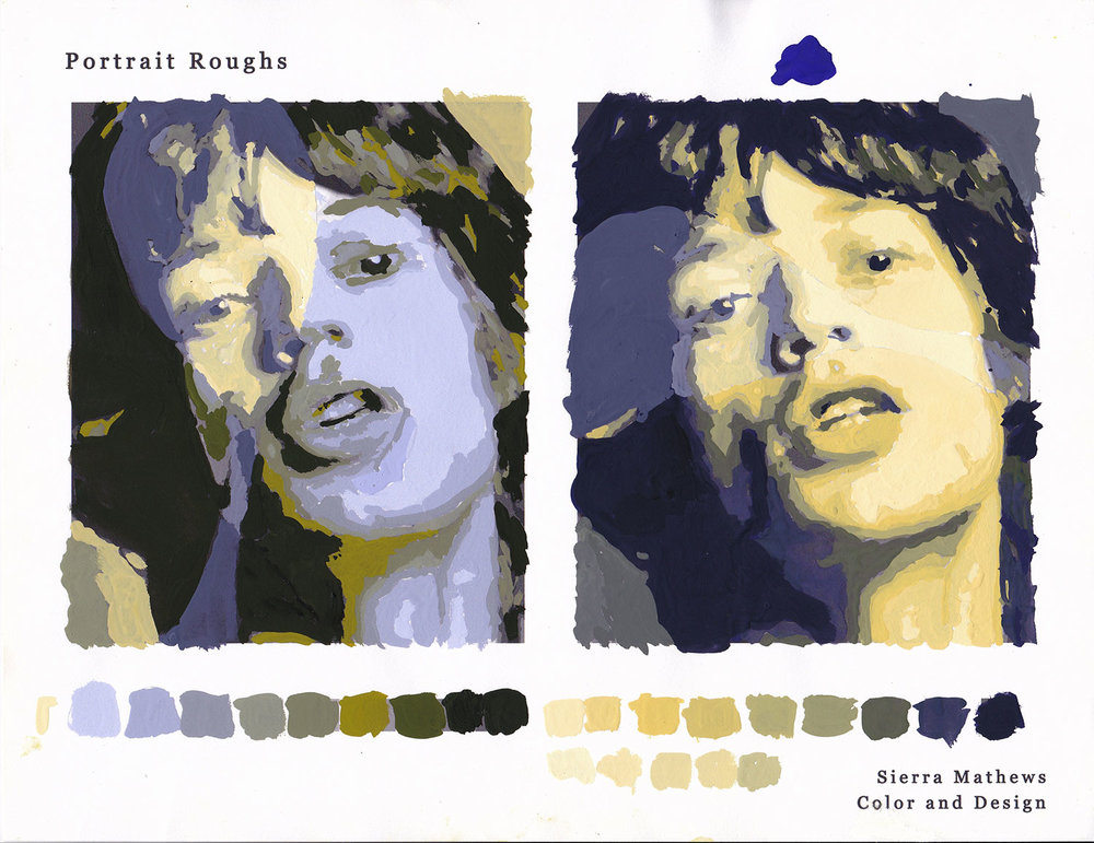 Portrait: Color Roughs