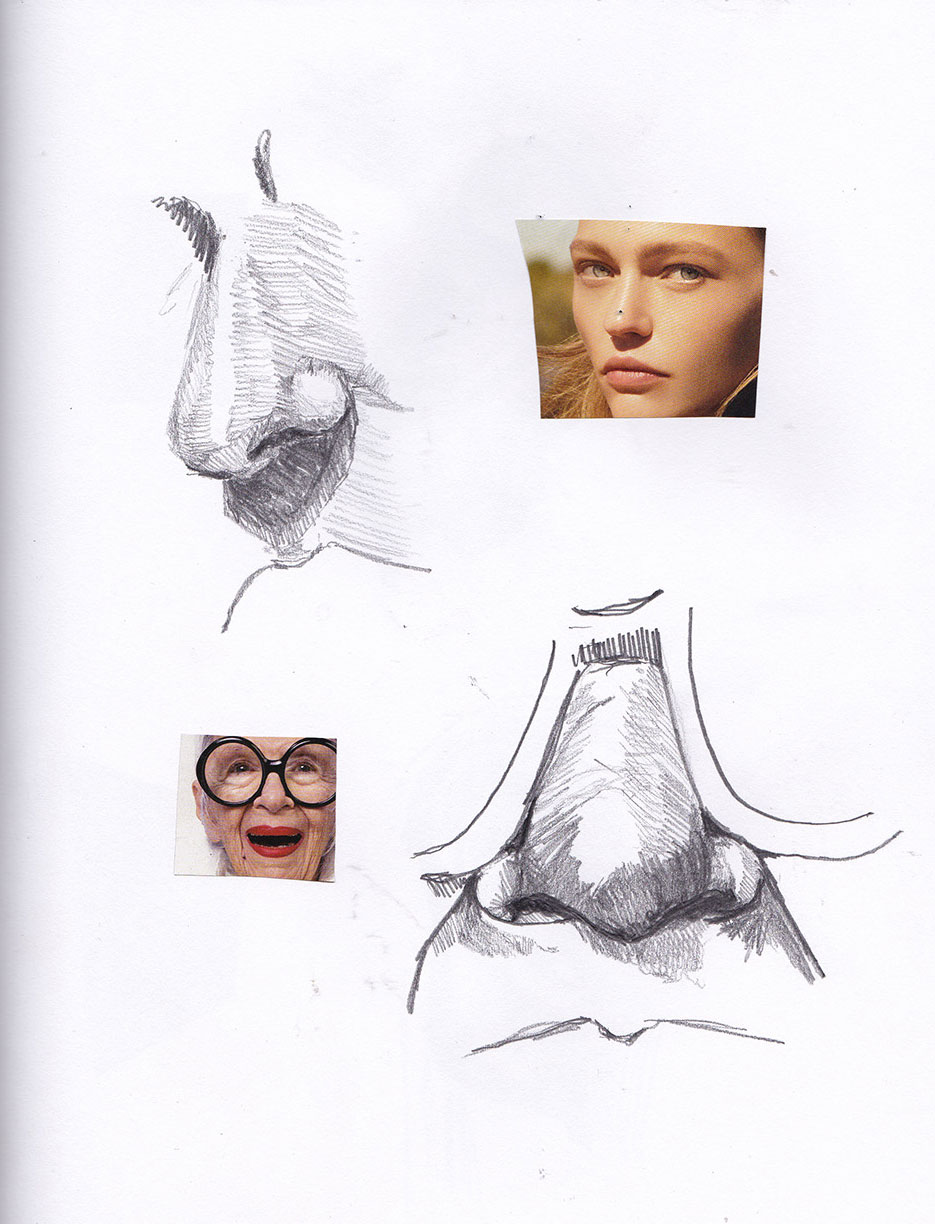 Feature Study - Nose