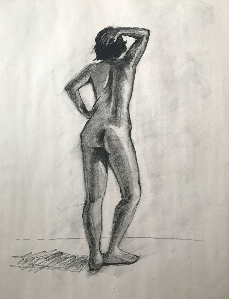 Figure Study - Female Nude
