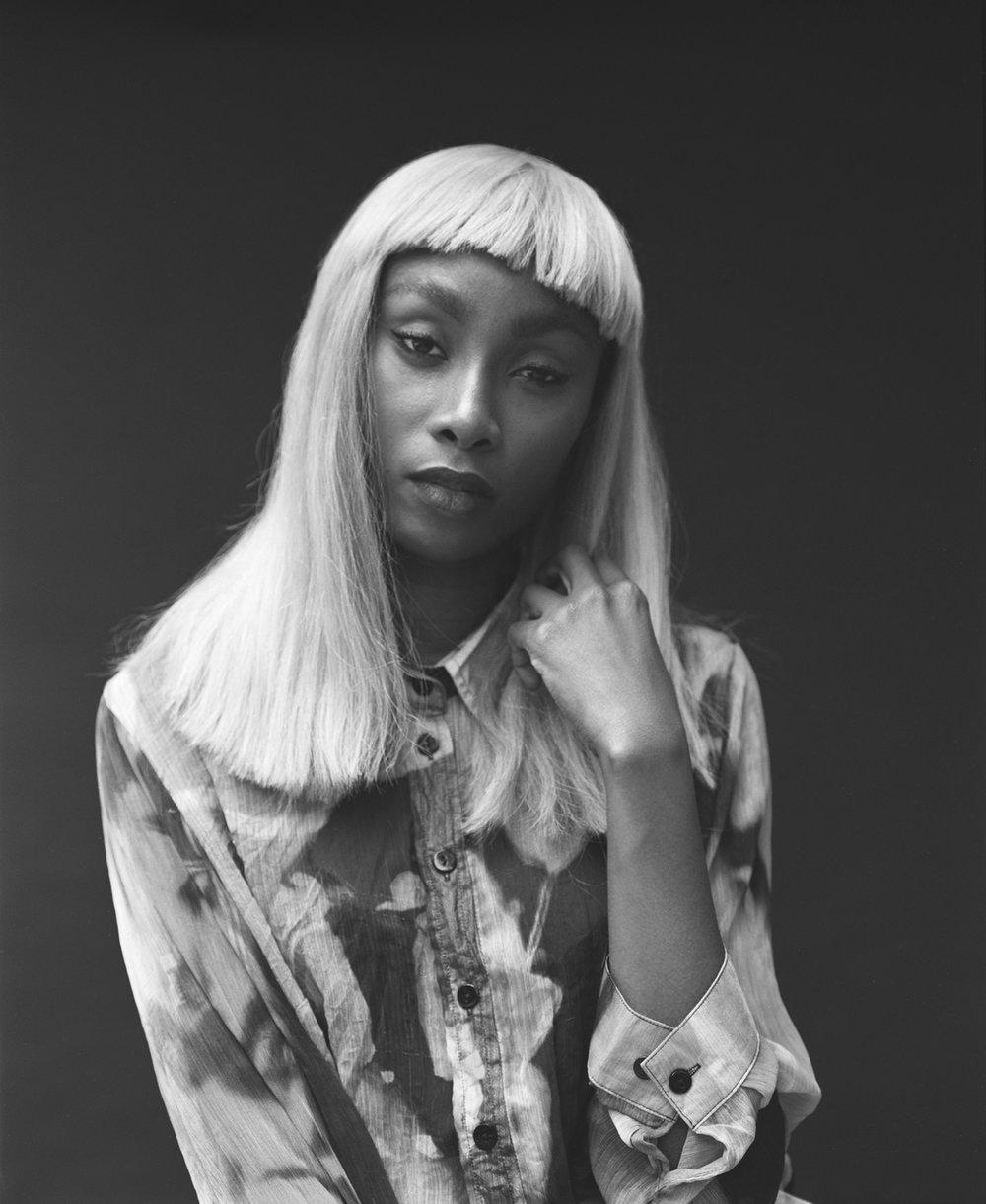 Singer Bridgette Amofah