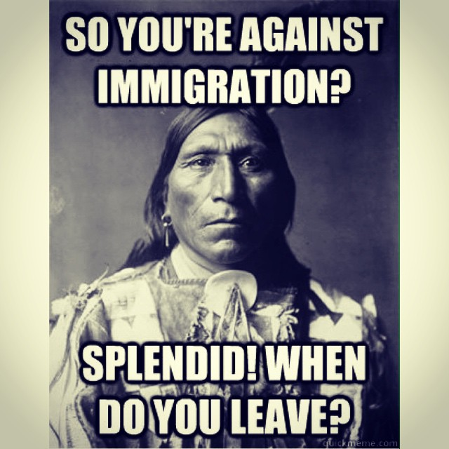 Against immigration reform? #suckit #latinos #white #black #redwhiteandblue #USA #immigrants #immigration #reform #weareallone #human