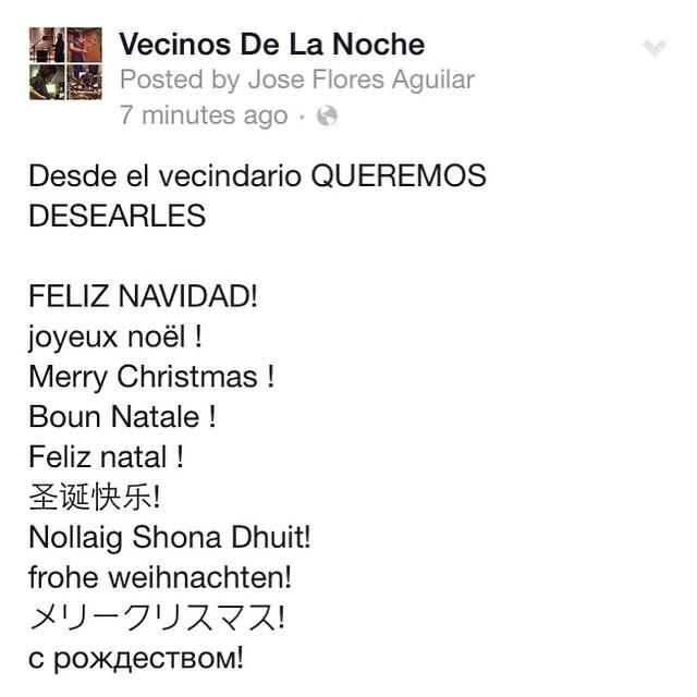 #feliznavidad#bounnatele#joyeuxnoel#merrychistmas #idiomas #fiestas #pop #rock #español #banda #familia #amigos #fans #like #follow #music #talent #rusia  #italia #brazil #colombia #honduras #puertorico #usa
