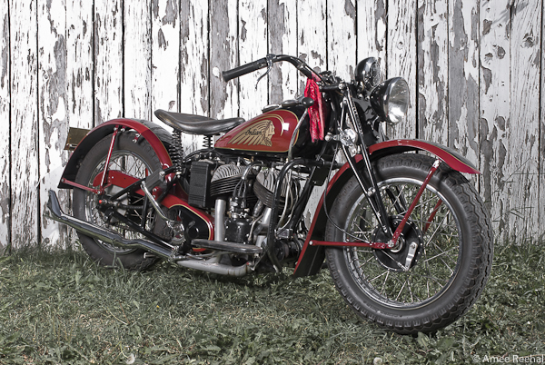 1940 Indian motorcycle by The GasBox | Bike EXIF