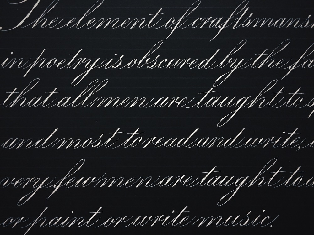 English Roundhand (Copperplate)