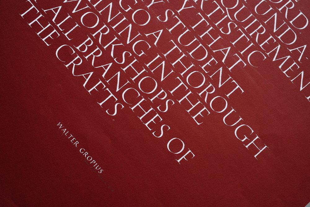Serif Roman Letters - Dao Huy Hoang 2017