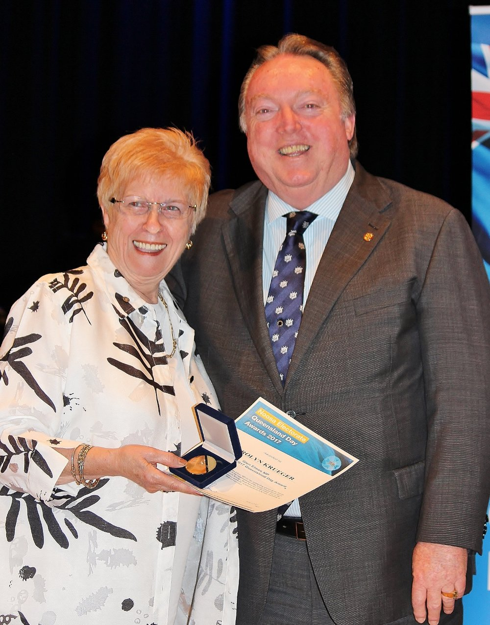 Carolyn Kruger celebrating her award with Glen Elmes at The J (6).jpg