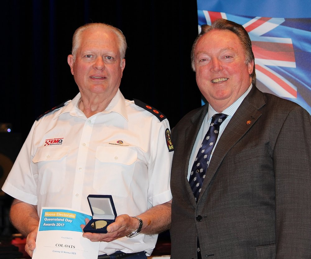 Col Oats celebrating his award with Glen Elmes (1).jpg