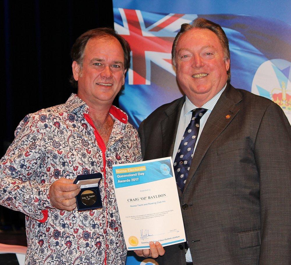Oz Bayldon celebrates his award with Glen Elmes (1) - Copy.jpg