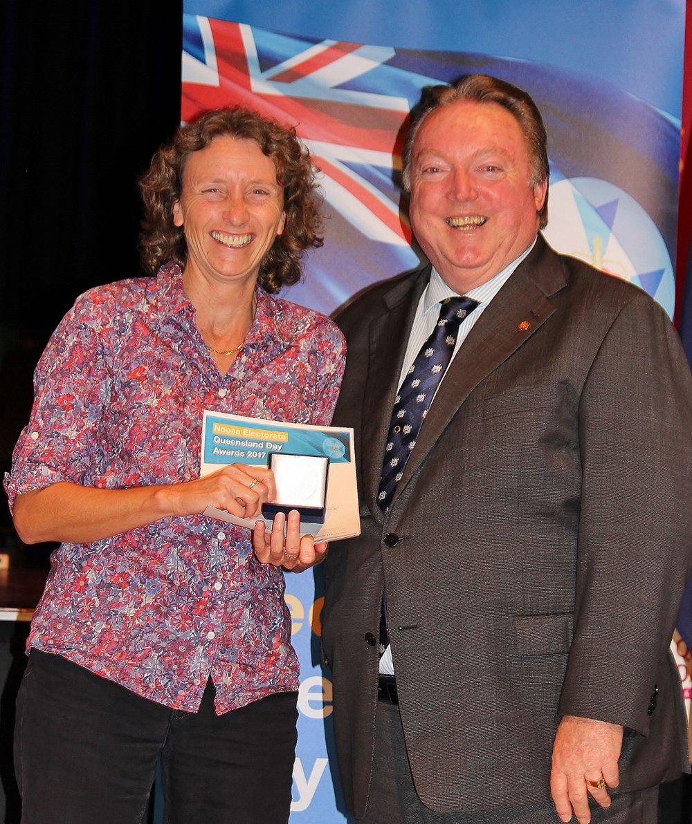Jane Marren celebrates her win with Glen Elmes (1) - Copy.jpg