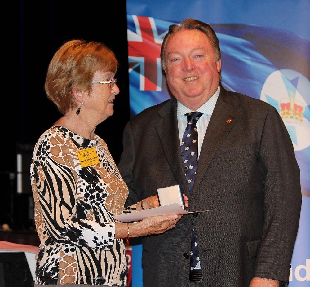 Margaret Rickard representing Beverley Warner with Glen Elmes (1) - Copy.jpg